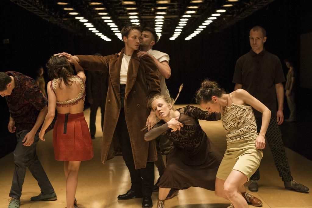 Carte Blanche er et av kompaniene som står på programmet under Oktoberdans 2014. Foto: Thor Brødreskift