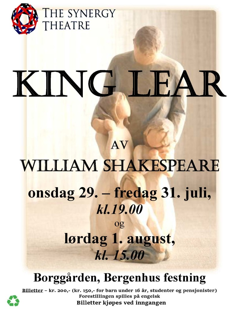 King Lear posterNORSK